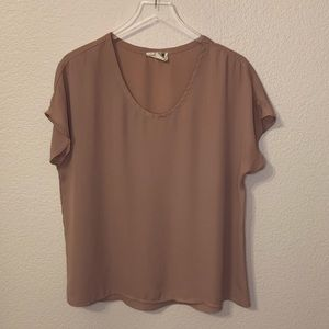 Rose colored blouse, medium